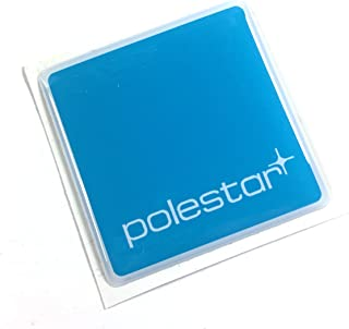 Alstickers! POLESTAR car Sticker, Polyurethane Resin Film 1.57