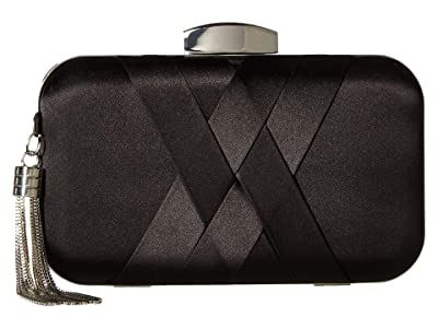 Jessica McClintock Molly Minaudiere (Black) Clutch Handbags