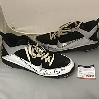 99a98d19826c Autographed Signed Yonder Alonso 2012 Game Used Pair Baseball Cleats Shoes  PSA DNA COA