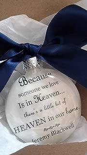 In Memory Memorial Ornament