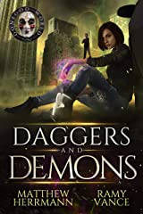 Daggers and Demons: A Contemporary Urban Fantasy Novel (Better Demons Series Book 2) Kindle Edition