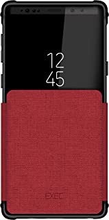 Ghostek Exec Folio Flip Card Slot Phone Case Designed for Samsung Galaxy Note 9 – Red