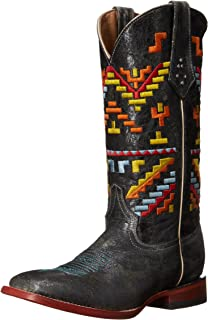 Ferrini Womens Ladies Aztec Cowgirl