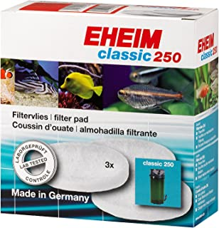Eheim Fine Filter Pad for 2213/250 2616135 Canister Filter (3 pcs)