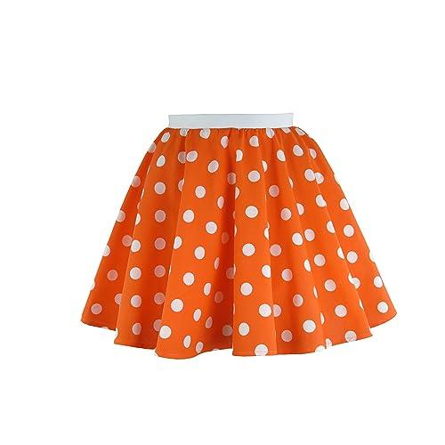 9918b7db26f72 Girls Rock n Roll Polka Dot Skirt 50 s   60 s Style Fancy Dress