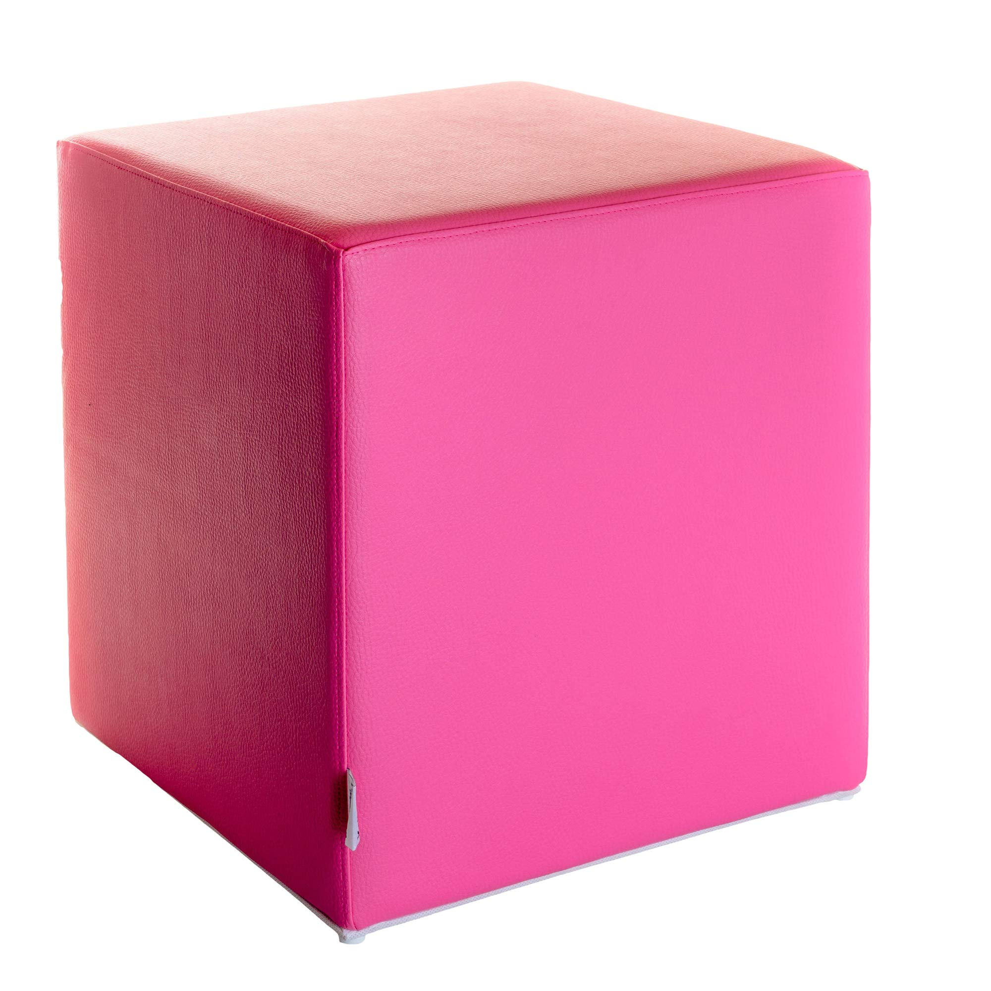 Siège cube cube Imprimé Paris Noir et Blanc France 35 cm x 35 cm x 42 cm KAI