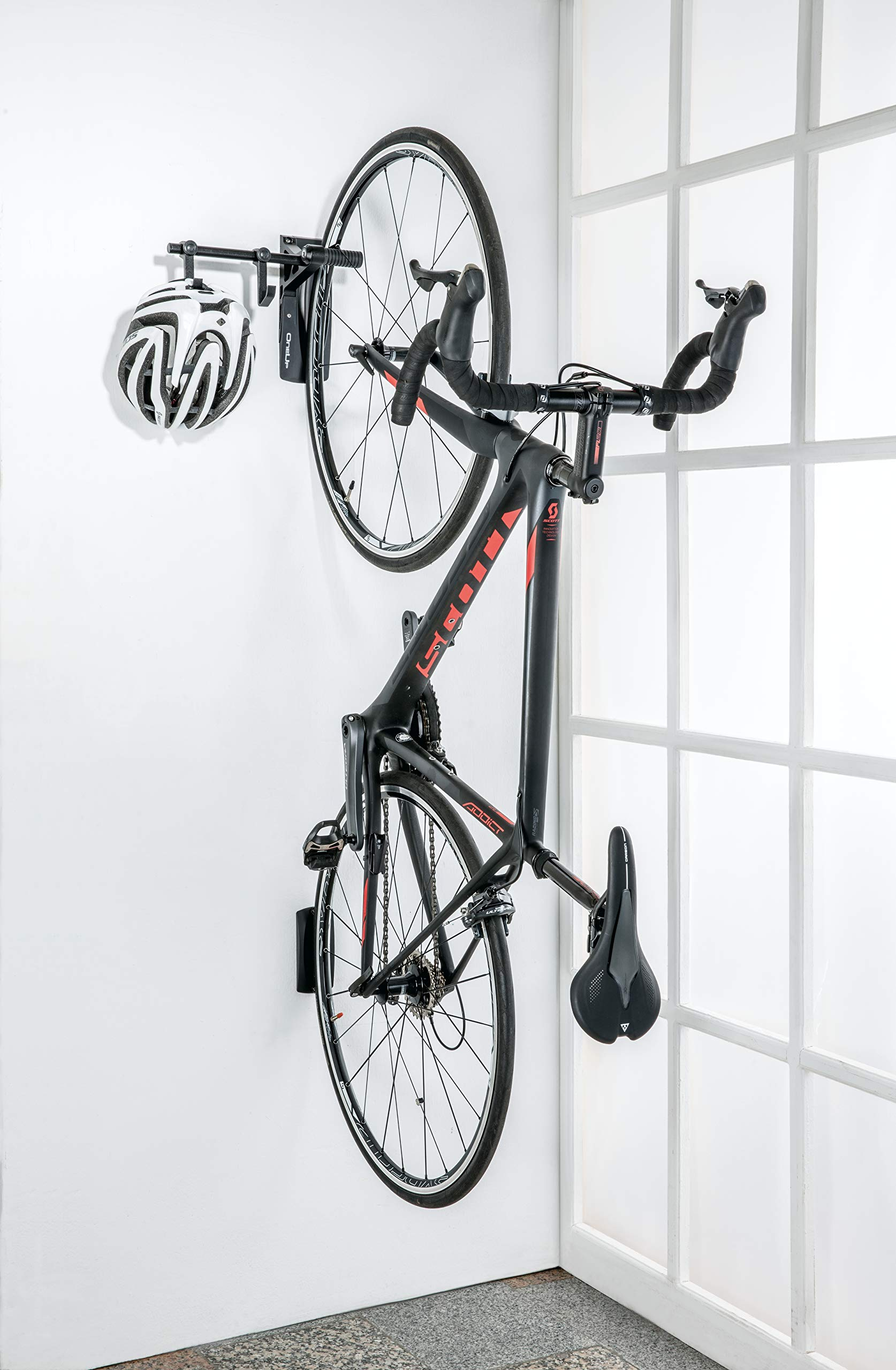 Topeak Bike Fijación Bike Holder oneup Wall Rack, Black, One Size ...