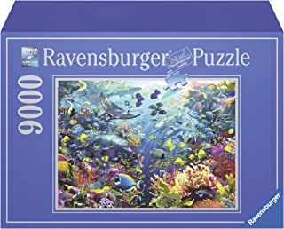 Ravensburger Underwater Paradise 9000 Piece Jigsaw Puzzle for Adults – Softclick Technology Means Pieces Fit Together Perfectly