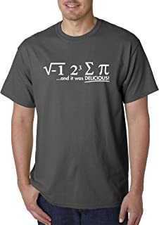 New Way 905 - Unisex T-Shirt I Ate Some Pie Delicious i Eight Sum Pi Math