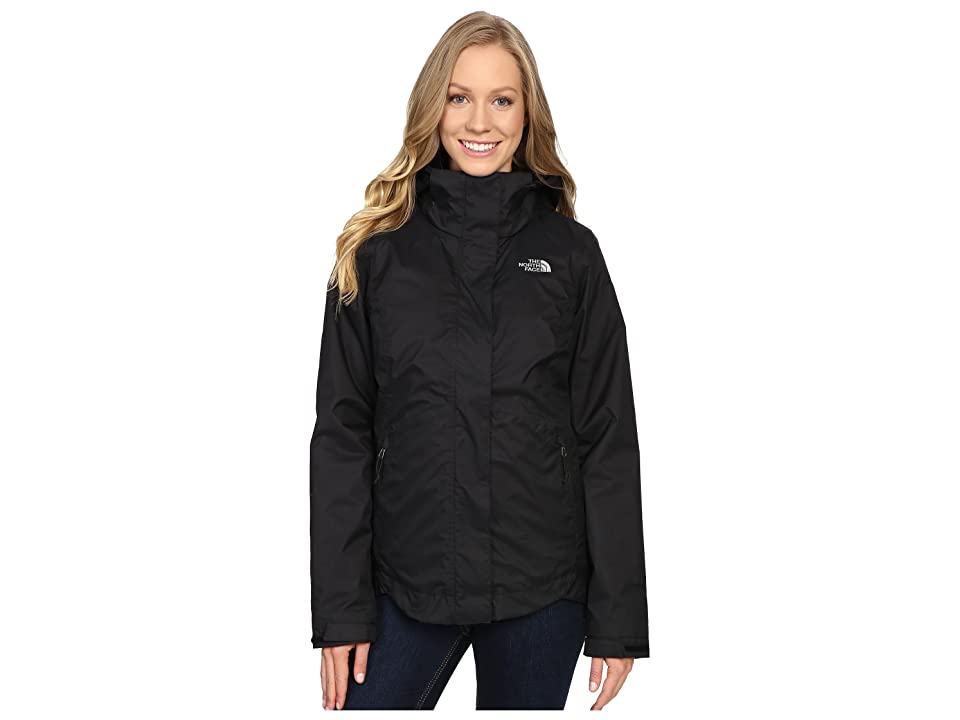 The North Face Mossbud Swirl Triclimate(r) Jacket (TNF Black (Prior Season)) Women