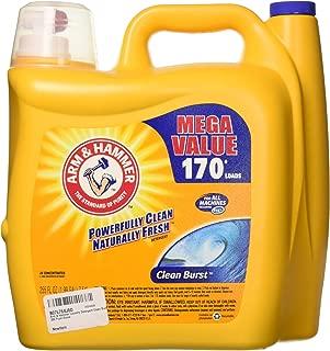 Arm & Hammer Laundry Detergent, Clean Burst, 255 Fluid Ounce