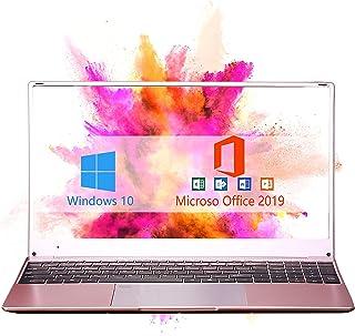 【8GB/Office 2010】 15.6-inch Large Screen Luminous Keyboard high-Performance Laptop J3455 Quiet CPU Wireless LAN 6-Hour Con...