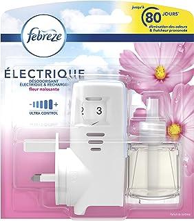Febreze Diffuseur Électrique Kit Prise + 1 Recharge, Fleur Naissante, 20 ml