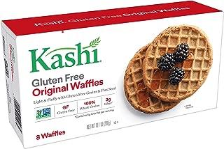 Kashi Frozen Original Waffles - 100% Whole Grains   Vegan   10.1 Oz Box (8 Waffles)