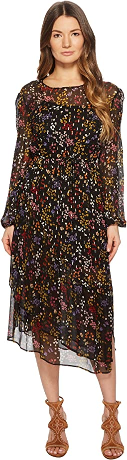 See by Chloe - Printed Silk Crepon Midi Dress