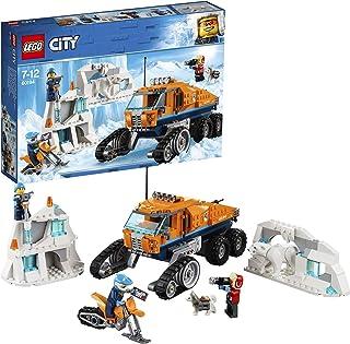 LEGO City Ártico - Vehículo de Exploración, Juguete de Construcción de Aventuras en la Nieve, Incluye Todoterreno con Ruedas de Oruga (60194)