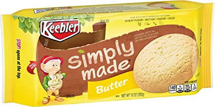 Keebler Simply Made Cookies, Butter, 10 oz