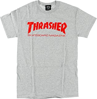 Thrasher Skate Mag T-Shirt [Large] Heather/Red