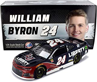 william byron autographed diecast