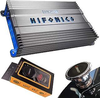 $169 » Hifonics BG-1300.1D 1300 Watts Brutus Gamma Mono Subwoofer Car Audio Amplifier with Gravity Magnet Phone Holder Bundle