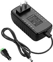ALITOVE 24V 1A 24W DC Power Supply Adapter 100~240V AC to DC 24 Volt 1 Amp Converter 24 vdc 1000mA 800mA 600mA 400mA 200mA with 5.5mm x 2.5mm 2.1mm Plug for LED Strip Light CCTV Camera DC Pump
