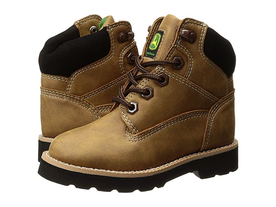 John Deere Everyday Round Toe Lace-Up (Toddler/Little Kid) (Tan) Men