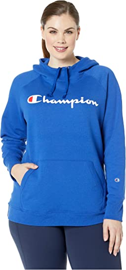 Plus Fleece Pullover Hoodie - Graphic Y07466