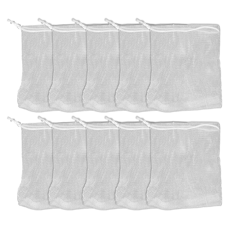 10pcs Soap Special sale item Super beauty product restock quality top! Bubble Mesh Bags Portable Travel Foaming Sac Net