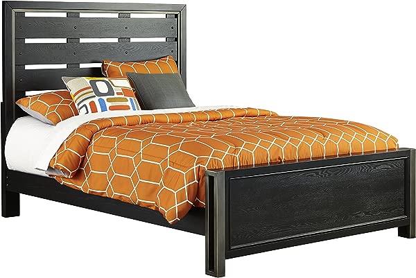 Pulaski Graphite Youth Bed Black Full