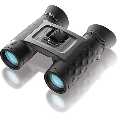 Steiner BluHorizons Binoculars - Unique Lens Technology, Eye Protection, Compact, Lightweight - Ideal for Outdoor Activities and Sporting Events