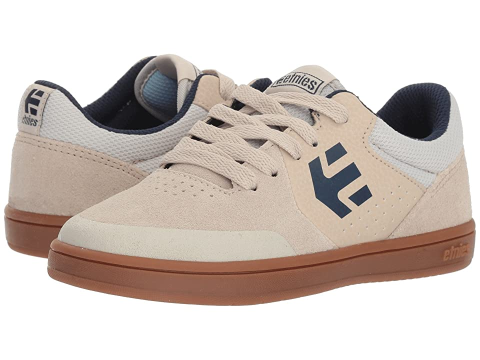etnies Kids Marana (Toddler/Little Kid/Big Kid) (White/Navy/Gum) Boys Shoes