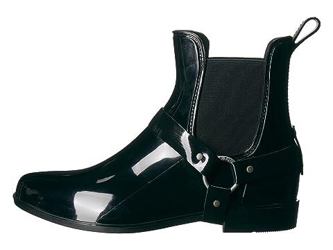 LAUREN Ralph Lauren Tricia Black Solid PVC