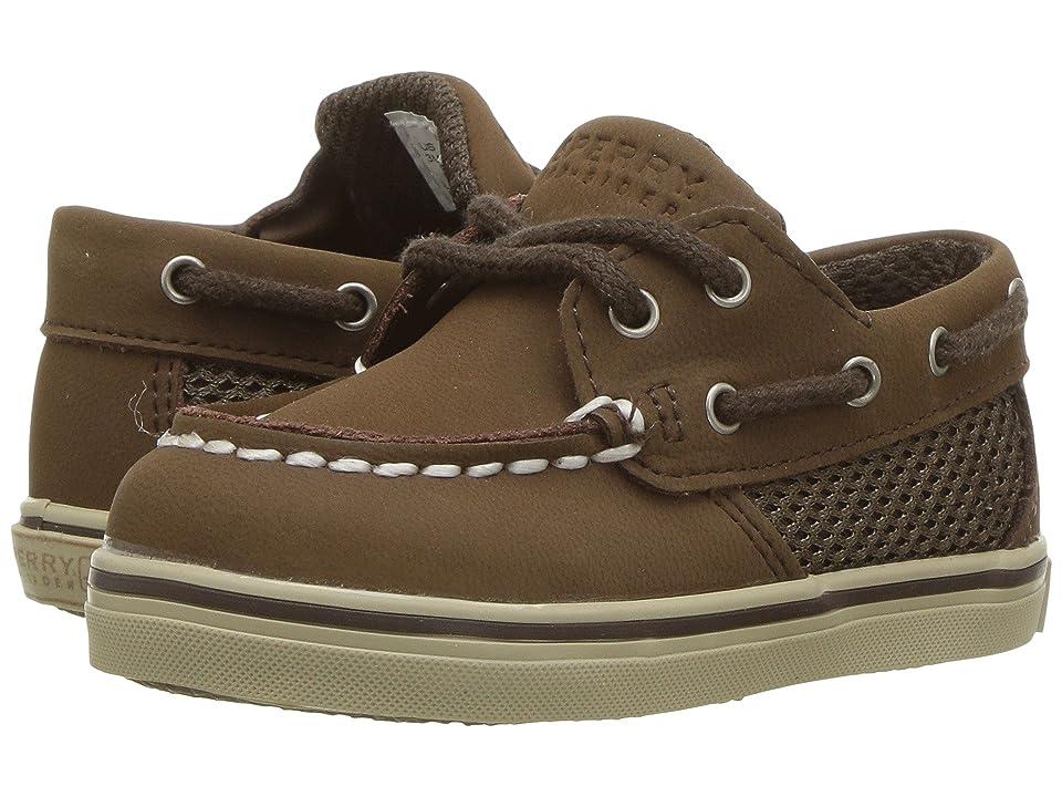 Sperry Kids Intrepid Crib (Infant) (Cigar Brown Nubuck) Kids Shoes