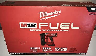 Milwaukee Electric Tool 2740-21CT M18 Fuel 18 Gauge Brad Nailer Kit, 1