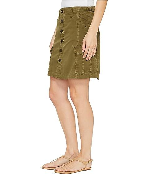 Skirt Button Boardwalk Jeans Jag in Front Bay Twill pFaZxcy