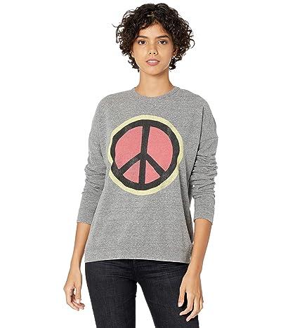 The Original Retro Brand Super Soft Haaci Peace Sign Pullover