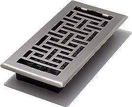 Decor Grates AJH410-NKL Floor Register, 4 x 10, Nickel