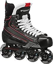 Tour Hockey Code 7 Junior Inline Hockey Skate, Black, 02