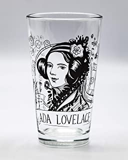 Cognitive Surplus Heroes of Science: Ada Lovelace Pint Glass