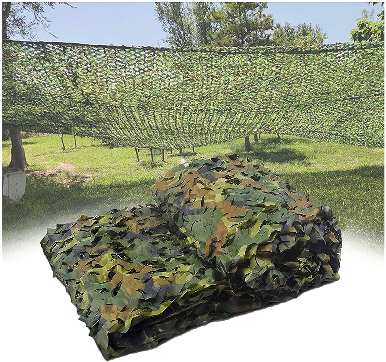 OUMIZHI Malla de Camuflaje Militar de KALUNBS para Decorar, camufar y Dar Sombra