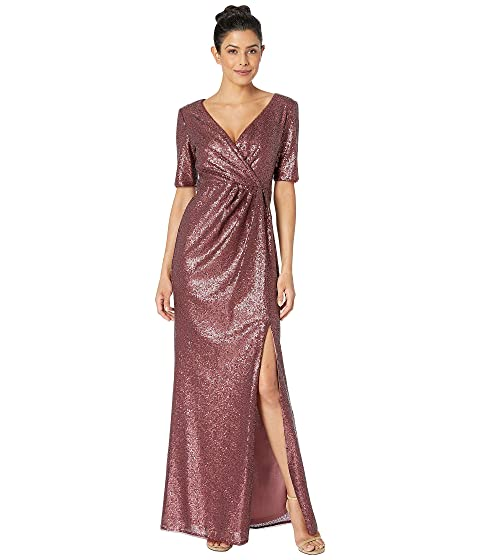 00e435230fa Adrianna Papell Sequin Long Dress at Zappos.com