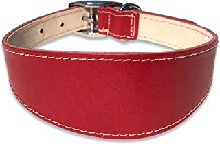 BBD Grey Hound Deluxe Collar Red