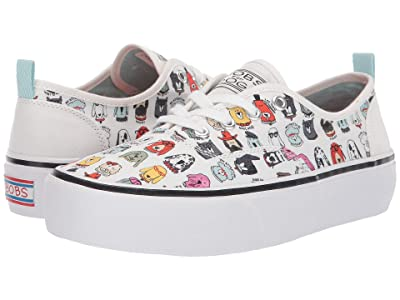 BOBS from SKECHERS Marley Brat Pack (White) Women