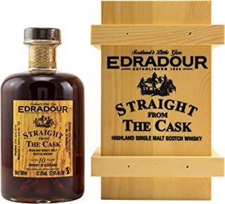 Edradour 2010/20 Straight from the Cask - SHERRY CASK 162 Single Malt Whisky 57,6% vol 1x0,5L