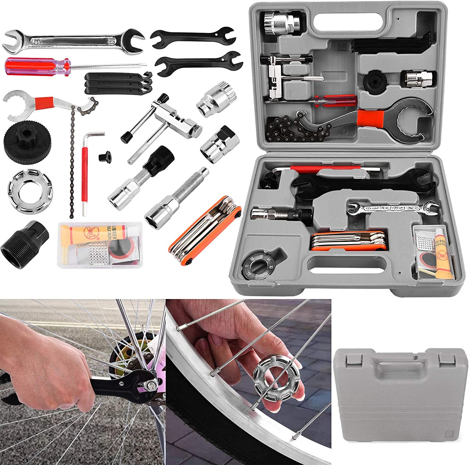 Tengma excellence Bike Tool Kit - 25pcs Mechanic Universal Home P Lowest price challenge Bicycle