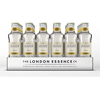 London Essence Company - Tonic Water - Perfect Mixer for your Premium Spirits - No Artificial Colours, Preservatives or Flavours - Low Calorie - Classic London, 200ml, Pack of 24 bottles