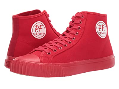 PF Flyers Center Hi Fourth of July (Red) Classic Shoes