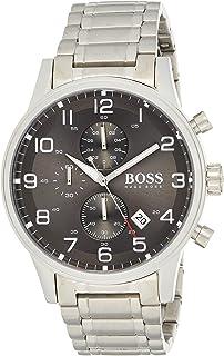ساعة بوس بلاك للرجال HB151.3181 - أنالوج، رسمية