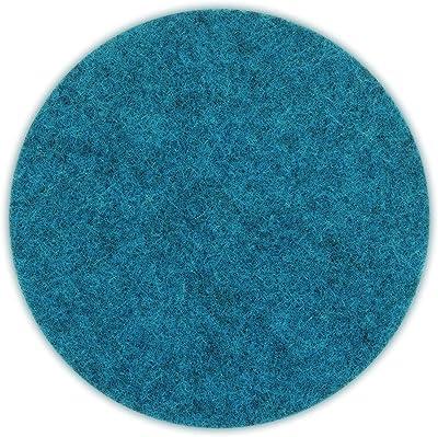 Kela ケラ 鍋敷き ブルー サイズ:∅10×0.4cm 鍋敷き Alia 4 pieces 12332