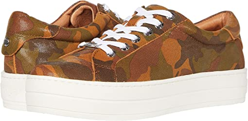 Tan Camo Leather